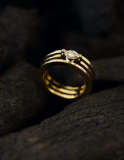 Ring von Margot Leitges Goldschmiedemeisterin - Foto © bohl.de